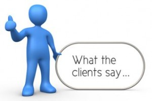 What the Clients Say